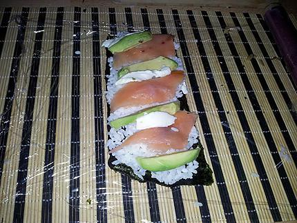 recette de makis california roll faits maison. Black Bedroom Furniture Sets. Home Design Ideas