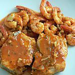 recette Crevettes et cabillaud à la diable (compatible dukan)