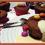 recette Petits Gâteaux au chocolat aux M&M's