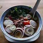 recette Soupe de Bœuf Thaï de Bangkok