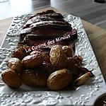 recette Filet de Bœuf aux grenailles confites