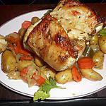 recette Carré de porc en cocotte