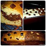 recette The cake marbré
