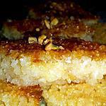 recette Basboussa Libanaise au yaourt et à la noix de coco