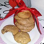 recette Cookies au chocolat et au lait concentré