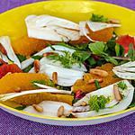 recette Salade de fenouil à l'orange et aux pignons de pin