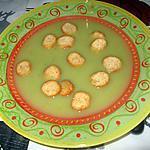 recette Velouté de queues d'épinards