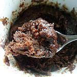 recette Mug cake au chocolat ... revisité :-)