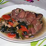 recette Soupe de légumes aux pieds de cochon