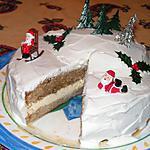 recette Gateau de Noël à l'Irish coffee