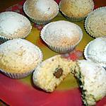 recette Cupcakes cannelle miel fleur d'oranger coeur choco caramel