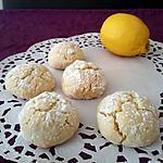 recette Biscuits moelleux au citron