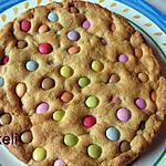 recette Cookie géant aux smarties