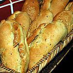 recette Petits pains aux noix et multiples farines