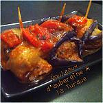 recette Rouleaux d'Aubergines au Bœuf ala Turque