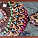 recette Gâteau au chocolat en forme de poisson