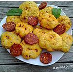 recette Cookies au chorizo et graines sésame