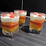 recette Verrines mascarpone & pêches
