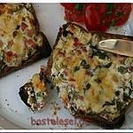 recette Croque-Tarte flambée