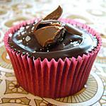 recette Cupcakes Chocolat au Beurre Salé & Éclats de Daim