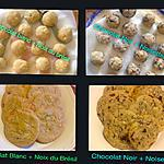 recette Gros Cookies USA (subway)