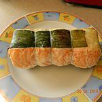 recette Farci  de saumon et noix de St Jacques