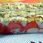 recette Pudding à la fraise façon tiramisu
