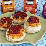 recette Bouchées à la tomatine