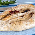 recette Fougasse jambon parmesan
