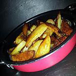 recette Frites de pomme de terre sautées cuite à la poele