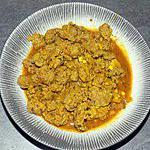 recette Curry de boeuf (compatible dukan)