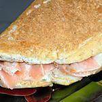 recette Chausson au saumon (compatible dukan)
