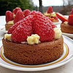 recette Tartelettes aux fraises gariguettes