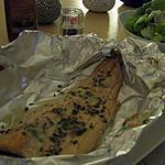 recette Papillote de poisson