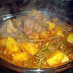 recette marga(ragout) aux haricots vert , recette algérienne