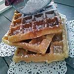 recette Gaufres *crousti-moelleuse* à la créme fraiche