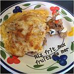recette Riz Frit aux Fruits de Mer à l'Indonésienne (Nasi Goreng)