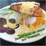 recette Saumon Grillé Poêlé et sa Sauce aux Fromages