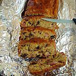 recette Cake aux lardons et aux pruneaux