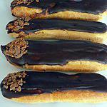recette Eclairs au chocolat crunch