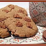 recette Cookies aux trois ingrédients, spéculoos