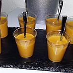 recette Velouté de carotte au curry et au lait de coco