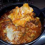 recette Lasagne cuite à la poêle