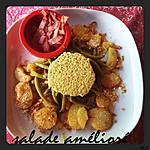 recette Salade amélioré Haricot-Vert