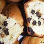 recette Muffins moelleux aux pépites de chocolat