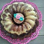 recette Gâteau marbré au chocolat (cuisson au micro-ondes)