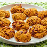 recette Cookies au chorizo, jambon et tomates confites