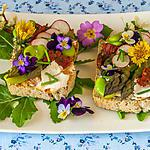 recette Tartine aux légumes printaniers