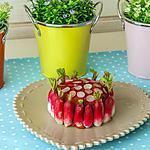 recette Chèvre à la tomatine et aux radis