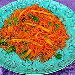recette Salade de carottes rapées à la mimolette